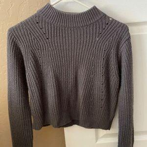 Pacsun Crop Mockneck Sweater